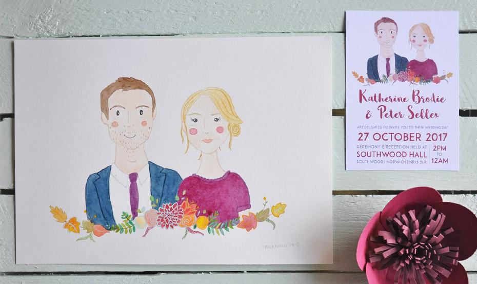 Bespoke Wedding Stationery & Handmade Invites | Frog & Pencil