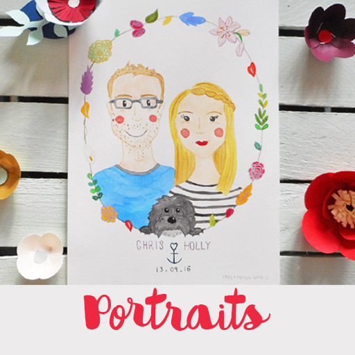 Watercolour portraits page link