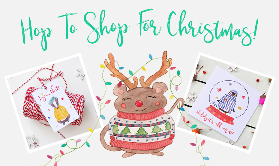 Hop to Frog & Pencil Christmas Shop